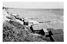 MENTONE Beach Bathing Boxes 1920-40 modern Digital photo Postcard