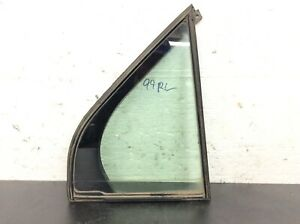 96-04 Acura RL 4Dr Right Rear Quarter Door Vent Glass Window Green Used OEM