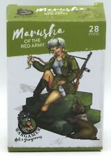 Wargamer HD-28-07 Marusha of the Red Army (28mm) Hot & Dangerous Female Infantry