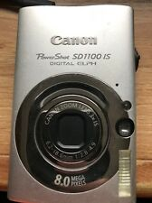 CANON POWERSHOT SD100 IS DIGITAL ELPH 8 MEGA PIXELS BATTERY CASE IMAGE STABLIZER