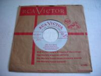 w SLEEVE Tommy Dorsey Once in a While / Not So Quiet Please 1952 45rpm