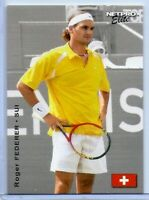 "ROGER FEDERER 2003 ""1ST EVER PRINTED"" NETPRO ELITE TENNIS ROOKIE CARD #RF-2!"