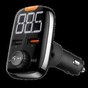 Maginon Bluetooth FM Transmitter BHF 350 USB KFZ Freisprecheinrichtung Neu