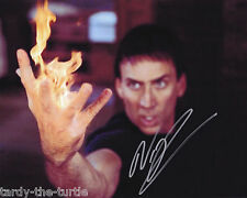 Nicolas Cage #1  8 x 10 Autograph Reprint Ghost Rider Kick-Ass National Treasure