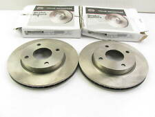 (2) NEW GENUINE FRONT Brake Rotors OEM For 2009-2011 Nissan Versa SEDAN