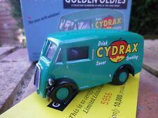 CORGI 6201 MORRIS J CYDRAX neuf en boite édition limitée déballé pour photo