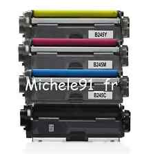 TONER Compatible TN241 TN-241 TN245 TN-245  BROTHER MFC9140 Lot de 5 (2N+C+M+Y)