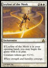 Mtg 1x leyline of the Meek-guildpact * rare alemán german foil NM *