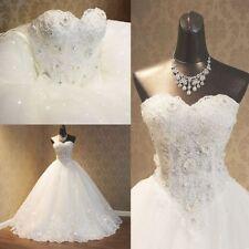 Unbranded Lace Sleeveless Wedding Dresses