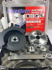 Safesaw Set 115mm Blade & Guard  Attachment  4-1/2 Angle Grinder Circular Saw