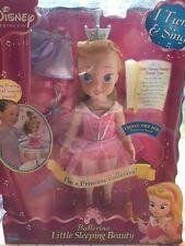 "Disney Princess 15"" Sleeping Beauty Ballerina Dance with me Playmates doll NEW"