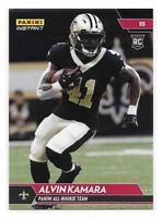 2017 Panini Instant NFL All-Rookie Team Alvin Kamara Rookie Card - 1 of 300