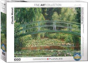 The Japanese Footbridge Claude Monet 1000 piece jigsaw puzzle 680mm x 490mm (pz)