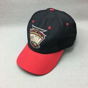 Indy 500 Hat Cap Snap Back Mens Indy 1997  Black Red Logo 7