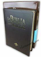 Biblia Pastoral para la Predicacion Reina Valera cafe con bosquejos pastorales