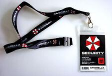 Resident Evil Lanyard - Umbrella Corp - Schlüsselband mit Ausweishülle + Ausweis