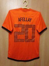NETHERLANDS 2012/2014 HOME FOOTBALL SHIRT JERSEY IBRAHIM AFELLAY #20