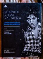 BRUCE SPRINGSTEEN BIG photo book GIORNI DI SOGNI E DI SPERANZA Frank Stefanko