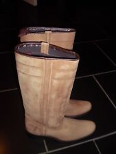 CAMPEROS GENUINE LEATHER  BOOTS BRAND NEW SIZE UK 4.
