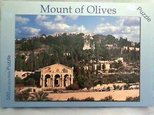 Mount of olives Puzzle 500 pcs