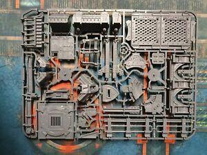 Gang Stronghold Sprue. Zone Mortalis. Sector Mechanicus 40k Kill Team terrain.