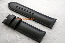 Panerai Black Calf Rugby Strap 26mm for Panerai Luminor 1950 XL Size OEM New !