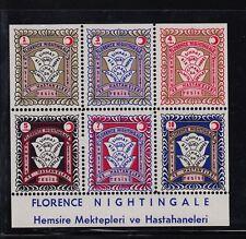 Turkey 1960'S(?) Florence Nightingale Nursing School Unlisted Issues Mint Nh