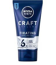 Nivea Men Craft Fixating  Styling Gel Shinny Wet Effect 150 ml