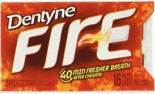 Dentyne Fire Spicy Cinnamon Flavor 16 Pieces Sugar Free Gum American Gums