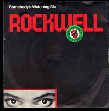 SOMEBODY'S WATCHING ME vocal - instrumental # ROCKWELL
