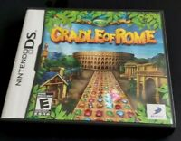 Nintendo DS Game Complete Dsi Dsl 3DS ~ CRADLE OF ROME ~ Over 100 levels