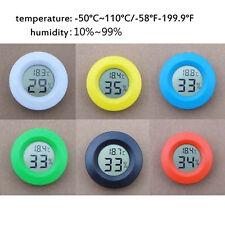 Digital LCD Hygrometer Humidity Temperature Meter Tester Indoor random au