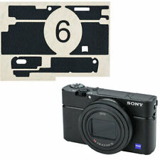 KS-RX100VIL Camera Leather Decoration Sticker for Sony RX100 VI RX100VI protect