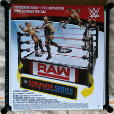 WWE Wrestling Superstar Ring  Raw & Survivor Series neu /ovp