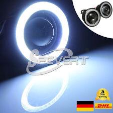 """3"""" 3200LM Nebelscheinwerfer Auto COB LED Eagle Eye Tagfahrlicht DRL Motorrad SP"""