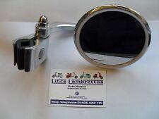 Lambretta sx,tv,li,special,right hand side halcyon clamp-on legshield mirror.