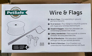 PetSafe Extra Garden Wire & Flags, Dog Training/Use with In Ground Fence System