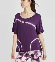 Women's Short Sleeve Top - JoyLab™ Purple XS