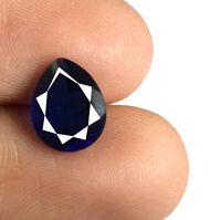 Blue Sapphire Natural 2.00 Carat Pear Cut Ceylon Loose Gemstone AGSL Certified
