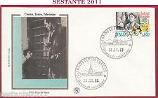 ITALIA FDC FILAGRANO GOLD VITTORIO DE SICA LADRI DI BICICLETTE 1988 TORINO Z393
