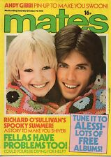 Mates Magazine 7 October 1978     Eddie of White Cat   Andy Gibb   Showaddywaddy