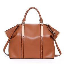 LeahWard® Large Size Tote Bags For Women Soft Top Handle Bag Shoulder Handbags C