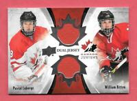 2016-17 Pascal Laberge - William Bitten Upper Deck Team Canada Juniors Jersey