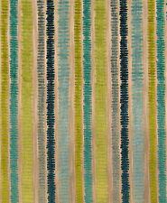 Chenille Warwick Aqua Abstract Minimalist Lines Scratches Primitive Modern