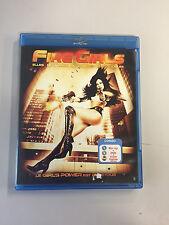 Fire Girls Blu-Ray