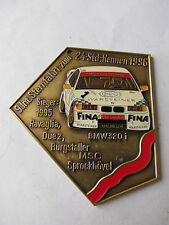 BMW 320i - SIEGER 24 STD. RENNEN NÜRBURGRING 1995 - BADGE AUTOPLAKETTE PLAKETTE