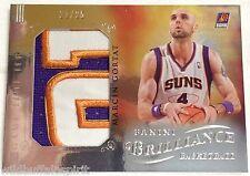Marcin Gortat 2012-13 Panini Game Time Jerseys 3-Color Rare PATCH SP #'d 21/25