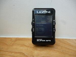 Lezyne Super enhanced GPS