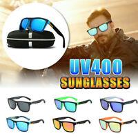 DUBERY Polarized UV400 Sunglasses Square Cycling Sport Driving Men's Sun Glasses