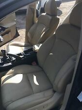Lexus is 220 - 250 Electric Leather Seats Front and Rear in Cream 2006